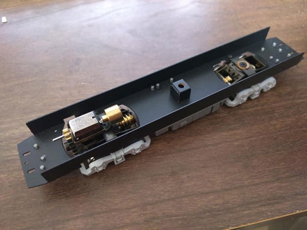 319Z HO 都電荒川線7000系用動力ユニット[ワンマイル]【送料無料】《12月予約》