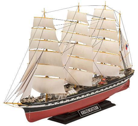 1/200 ロシア バーク型帆船クルーゼンシュテルン号 プラモデル[ドイツレベル]《取り寄せ※暫定》