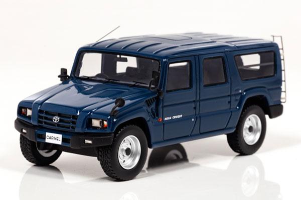 1/43 トヨタ メガクルーザー 1996 (Dark blue)[CAR・NEL]《発売済・在庫品》