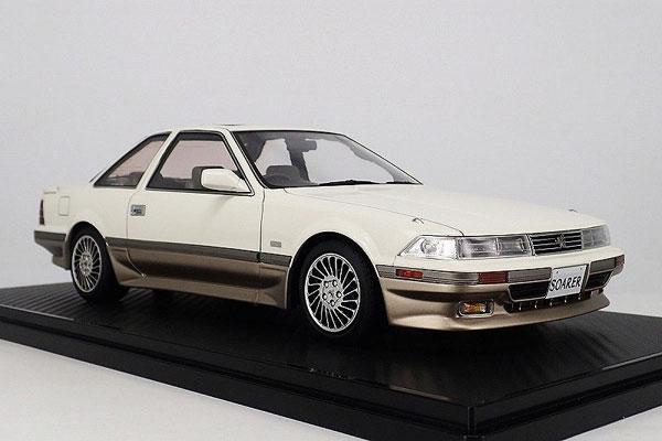 1/18 トヨタ Soarer (Z20) 3.0GT-LIMITED White/Silver ※Normal-Wheel[イグニッションモデル]【送料無料】《取り寄せ※暫定》