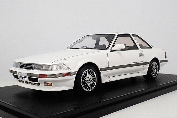 1/18 トヨタ Soarer (Z20) 2.0GT-TWIN TURBO L White ※Normal-Wheel[イグニッションモデル]【送料無料】《取り寄せ※暫定》