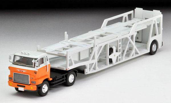 トミカリミテッドヴィンテージ ネオ LV-N89d 日野カートランスポーター(白/オレンジ)[トミーテック]《発売済・在庫品》