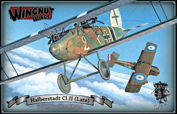 1/32 ハルバーシュタット Cl.II 後期型 プラモデル[ウィングナット・ウィングス]《取り寄せ※暫定》