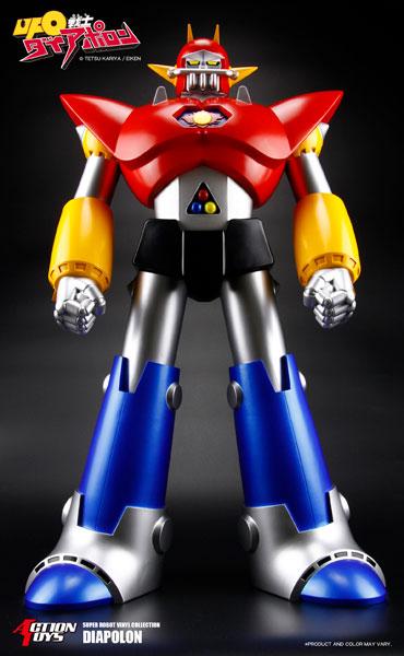スーパーロボットビニールコレクション シリーズ UFO戦士ダイアポロン[ACTION TOYS]《04月予約》