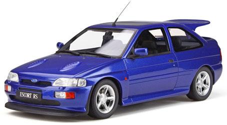 1/18 フォード エスコート RS コスワース(ブルー)[OttO mobile]《12月仮予約》