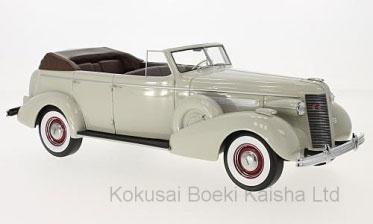 1/18 ビュイック ロードマスター 80-C 4ドア Phaeton 1937 グレー[BoS Models]【送料無料】《11月仮予約》