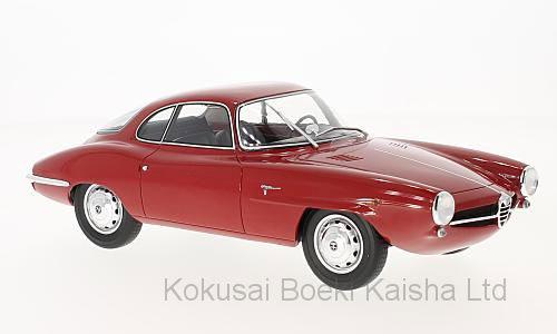 1/18 アルファロメオ ジュリエッタ SS 1961 レッド[BoS Models]【送料無料】《11月仮予約》