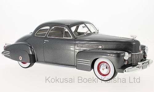 1/18 キャデラック シリーズ 62 クラブクーペ 1941 メタリックダークグレー[BoS Models]【送料無料】《11月仮予約》