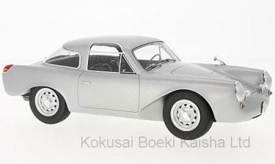1/18 ポルシェ Glockler クーペ 1954 シルバー[BoS Models]【送料無料】《11月仮予約》