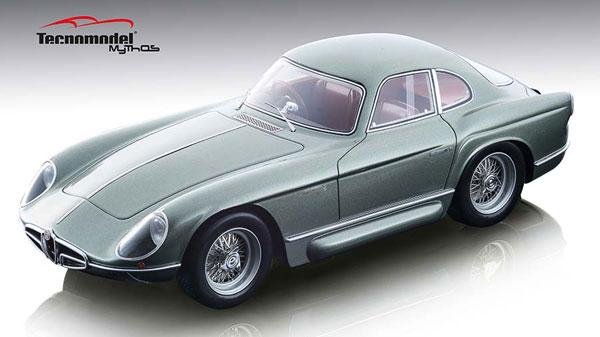 1/18 アルファ ロメオ 2000 スポルティーバ ベルトーネ 1954 メタリックグリーン[テクノモデル]【送料無料】《12月仮予約》