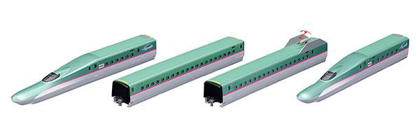 98319 JR E5系東北・北海道新幹線(はやぶさ・増備型)基本セット(4両)[TOMIX]【送料無料】《03月予約》