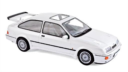 1/18 フォード シエラ RS コスワース 1986 ホワイト[ノレブ]《03月仮予約》