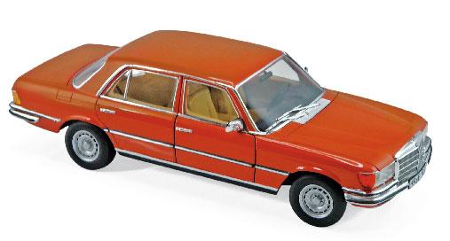 1/18 メルセデス・ベンツ 450 SEL 6.9 1976 メタリックインカオレンジ[ノレブ]《04月仮予約》