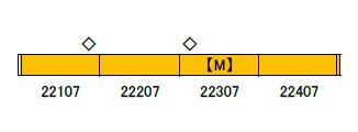 30780 近鉄22000系ACE(未更新車)基本4両編成セット(動力付き) 完成品[グリーンマックス]【送料無料】《03月予約》