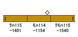 30813 JR115系1000番台(30N体質改善車・岡山D編成・更新色) 3両編成セット(動力無し) 完成品[グリーンマックス]【送料無料】《04月予約》