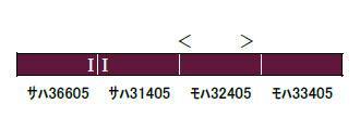 30811 東武30000系(前期形・東上線)増結用中間車4両セット(動力無し) 完成品[グリーンマックス]【送料無料】《03月予約》