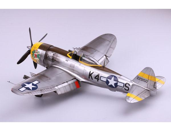 1/32 エデュアート P-47D 「ドッティ・メイ」 A2プリント付 プラモデル(再販)[エデュアルド]《取り寄せ※暫定》