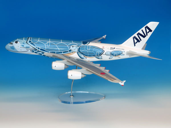 1/100 A380 JA381A ANAブルー エアバスレプリカ(ギアなし)[全日空商事]【同梱不可】【送料無料】《在庫切れ》