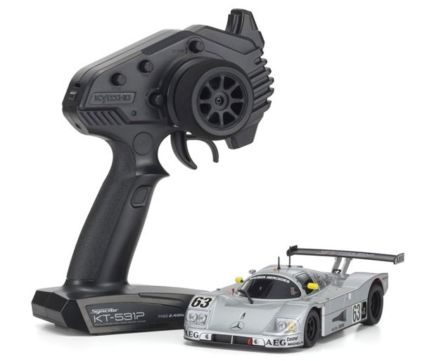 MR03RWD r/s ザウバーメルセデス C9 No.63 LM[京商]《取り寄せ※暫定》