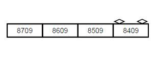 A3582 東京メトロ8000系 更新車 改良品 増結4両セット[マイクロエース]【送料無料】《04月予約》