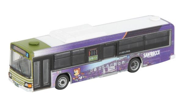 ザ・バスコレクション 広島電鉄×サンフレッチェ広島ラッピングバス[トミーテック]《発売済・在庫品》