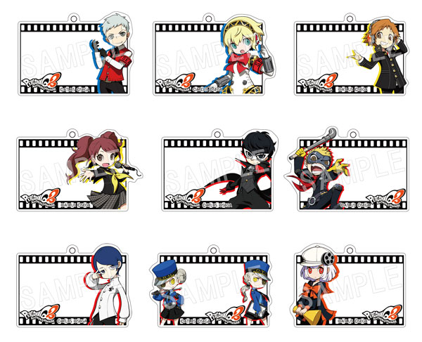 BOX [Chugai Mining] with persona Q2 ふぉーちゅん ☆ acrylic key ring Vol 5 nine <<  out of stock >>
