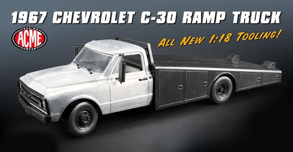 1/18 1967 CHEVROLET C-30 RAMP TRUCK[ACME]【送料無料】《取り寄せ※暫定》