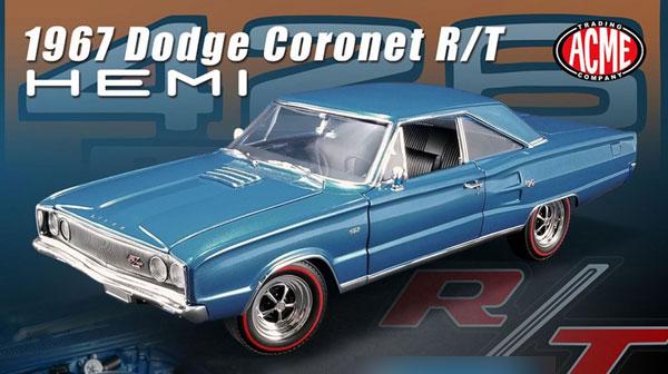 1/18 1969 Dodge Coronet R/T HEMI[ACME]【送料無料】《05月仮予約》
