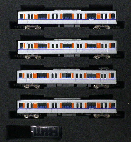 30819 東武50090型(ロングシートモード) 増結用中間車4両セット(動力無し)[グリーンマックス]【送料無料】《05月予約》