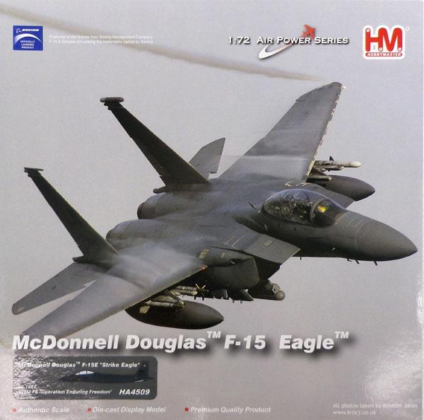 """1/72 F-15E ストライクイーグル 第391戦闘飛行隊""""不朽の平和作戦""""[ホビーマスター]《04月予約※暫定》"""