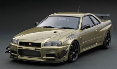 1/43 Nissan Skyline GT-R Mine's (R34) Millennium Jade[イグニッションモデル]《09月予約※暫定》