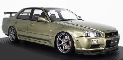 1/43 Nissan Skyline 25GT Turbo (ER34) Millennium Jade[イグニッションモデル]《10月予約※暫定》
