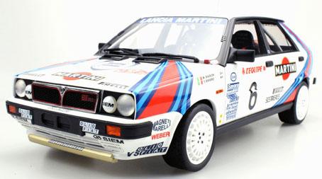 1/12 ランチャデルタ 4WD No,6 モンテカルロ ウィナー 1987[TOPMARQUES]【送料無料】《05月仮予約》