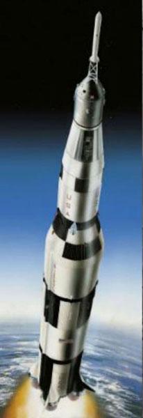 1/96 アポロ 11 サターンV ロケット プラモデル[ドイツレベル]《04月予約※暫定》