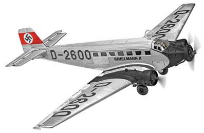 1/72 ユンカース Ju52/3m D-2600,Adolf Hitler's personal transport aircraft 1936[CORGI]【送料無料】《07月仮予約》