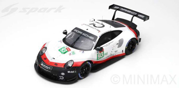 1/12 Porsche - Tandy 911 RSR GT No.93 Porsche GT Team 24H Le Mans 2018 P. Pilet - N. Tandy - E. Bamber[スパーク]【送料無料】《06月仮予約》, 瀬戸内町:d3806aa6 --- jpworks.be