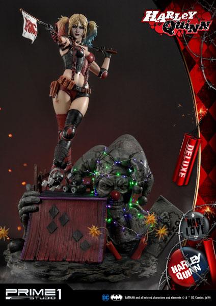 ミュージアムマスターライン/ BATMAN: ハーレイ・クイン 1/3 DX スタチュー[プライム1スタジオ]【同梱不可】【送料無料】《04月予約》
