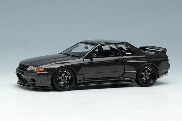 1/43 ガレージアクティブ カーボン GT -R (BNR32)[メイクアップ]【送料無料】《05月予約※暫定》