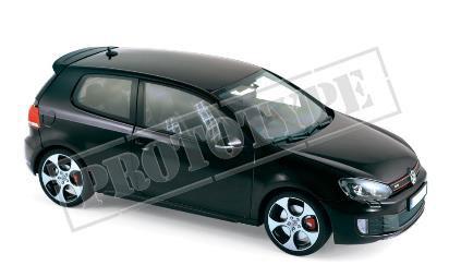 1/18 VW ゴルフ GTI 2009 ブラック[ノレブ]《08月仮予約》