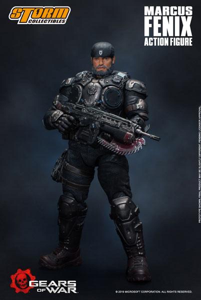 Gears of War (ギアーズ・オブ・ウォー) アクションフィギュア マーカス・フェニックス[ストームコレクティブルズ]《07月仮予約》