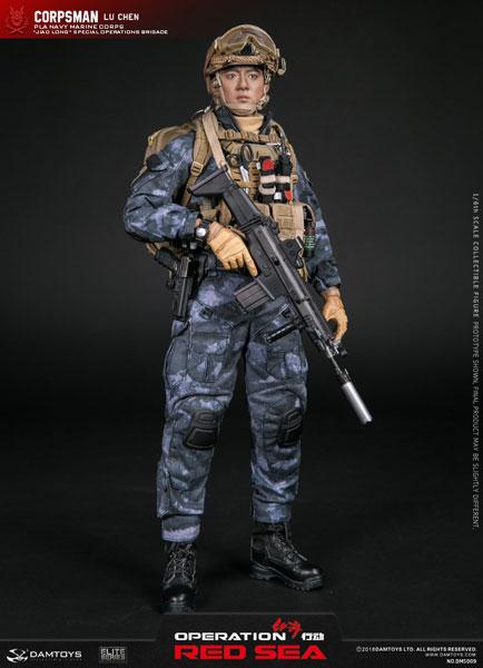 1/6 オペレーション:レッド・シー 中国人民解放軍海軍 特種部隊 コープスマン LU CHEN[DAMTOYS]【送料無料】《10月仮予約》