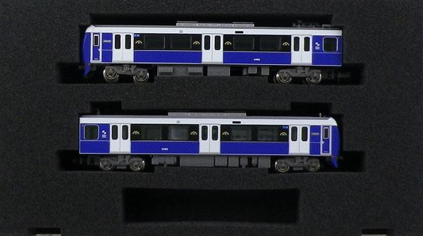 30837 静岡鉄道A3000形(エレガントブルー)2両編成セット(動力付き)[グリーンマックス]【送料無料】《発売済・在庫品》