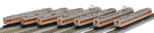 T030-2 国鉄 485系特急形車両 初期型「ひばり」 国鉄色 7両増結セット[ロクハン]【送料無料】《10月予約》
