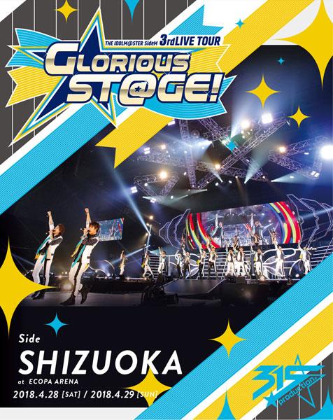 BD アイドルマスター SideM THE IDOLM@STER SideM 3rdLIVE TOUR~GLORIOUS ST@GE!~LIVE Side SHIZUOKA (Blu-ray Disc)[ランティス]《取り寄せ※暫定》