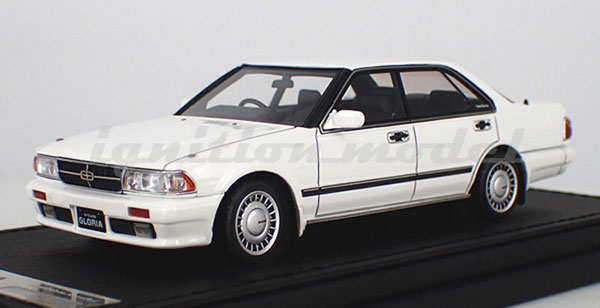 1/43 Nissan Gloria (Y31) Gran Turismo SV White[イグニッションモデル]《10月予約※暫定》