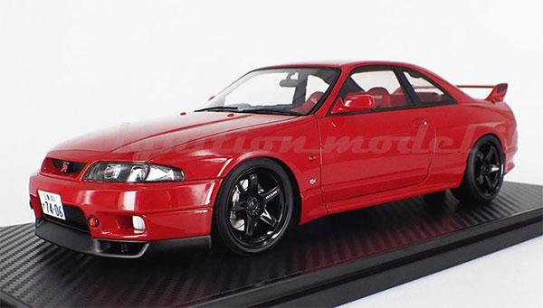 1/18 Nissan Skyline GT-R (BCNR33) Matsuda Street Wine Red[イグニッションモデル]【送料無料】《10月予約》