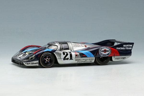 """1/43 ポルシェ 917LH """"マルティニレーシングチーム"""" ルマン 24時間 1971 No,21[メイクアップ]【送料無料】《06月予約》"""