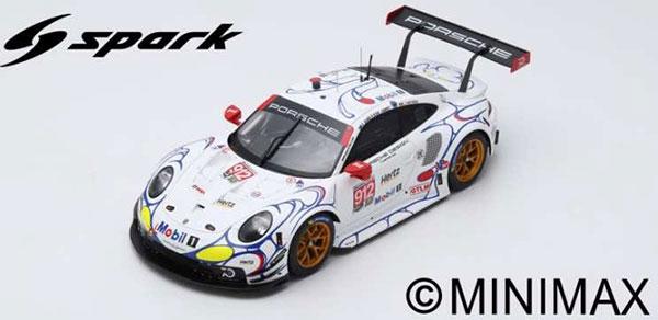 1/18 ポルシェ 911 RSR No.912 Petit Le Mans 2018Porsche GT Team[スパーク]《10月仮予約》