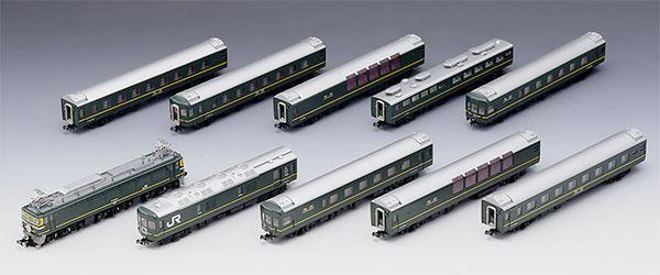 97903 限定品 JR EF81・24系(トワイライトエクスプレス・登場時)セット(10両)[TOMIX]【送料無料】《発売済・在庫品》