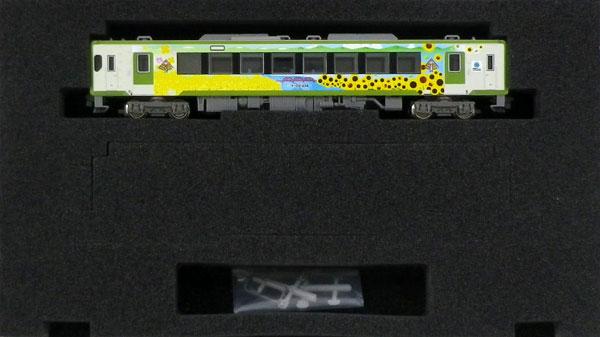 50588 完成品 JRキハ110形(200番代・飯山線の四季ラッピング)1両単品(動力付き)(再販)[グリーンマックス]《02月予約》